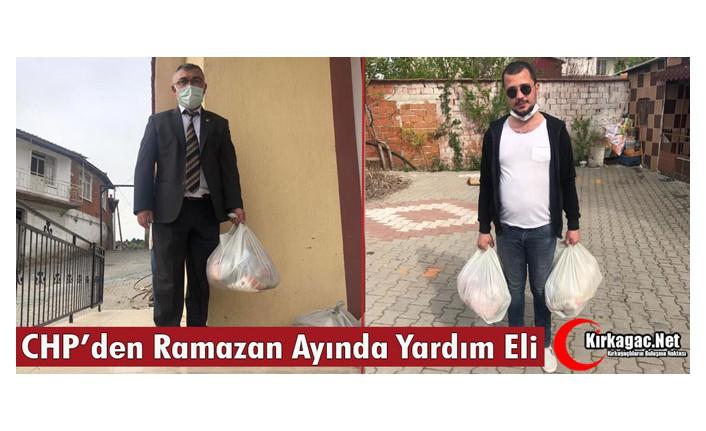 CHP'DEN RAMAZAN AYINDA YARDIM ELİ