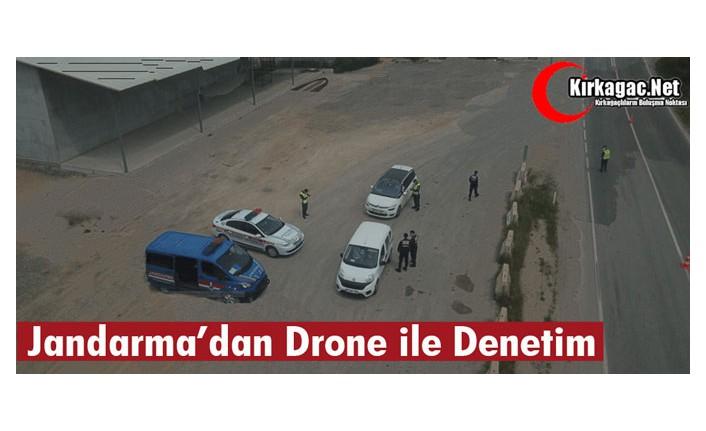 JANDARMA'DAN DRONE İLE DENETİM