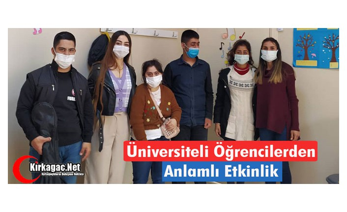 """ÜNİVERSİTELİ ÖĞRENCİLERDEN """"ANLAMLI ETKİNLİK"""""""