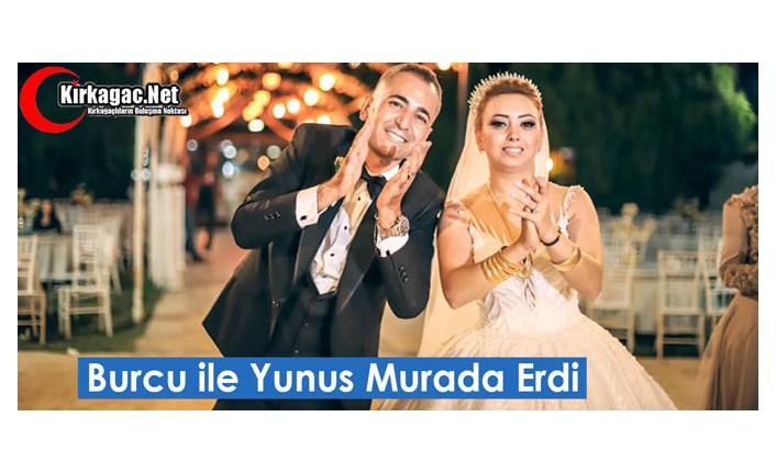 BURCU İLE YUNUS MURADA ERDİ