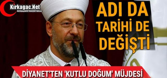 """""""KUTLU DOĞUM'UN"""" ADI DA TARİHİDE DEĞİŞTİ"""