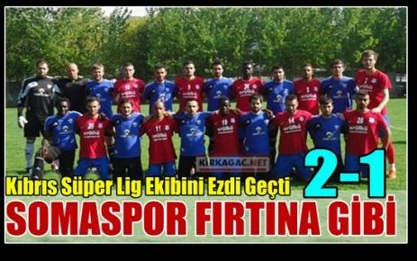 SOMASPOR FIRTINA GİBİ 2-1