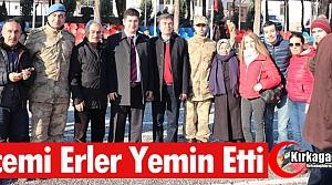 1998/4 VE 373. KISA DÖNEM ACEMİ ERLER YEMİN ETTİ