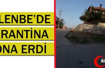 GELENBE'DE KARANTİNA SONA ERDİ