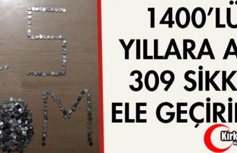 1400'LÜ YILLARA AİT 309 ADET SİKKE ELE GEÇİRİLDİ