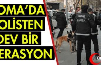 POLİSTEN DEV OPERASYON