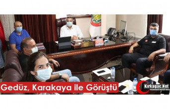 KARAKAYA'DAN GEDÜZ'E ZİYARET