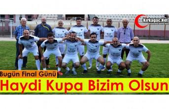 """KIRKAĞAÇ MASTER TAKIMI """"ŞAMPİYONLUK"""" İÇİN SAHADA"""